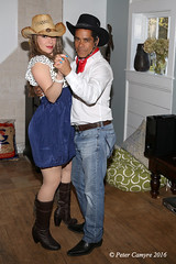 Amanda & Johnny (Peter Camyre) Tags: pictures ri blue friends portrait horse beautiful face female canon pose hair lens island dance model eyes cowboy pretty shoot dancers dancing boots country group models posing jeans peter riding western april 5d 23 cowgirl rhode smithfield horseback mkiii 2016 camyre ef2470f28liiusm