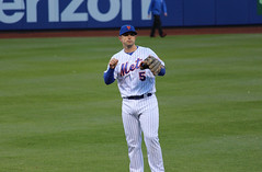 The Mets David Wright before the game at Citi Field (Hazboy) Tags: new york city nyc usa ny sports field sport america us team baseball queens april mets mlb citi flushing 2016 hazboy hazboy1