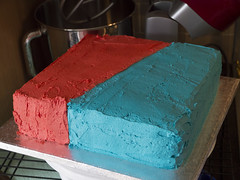 Mmm Colours (Theweird1ne) Tags: blue red white black cake dc comic spiderman ironman superman comicbook superhero batman icing thor marvel captainamerica dairyfree