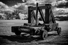 Catapult - Explore 2016-04-16 / 17/04/2016 - UK (Clydebank Photography) Tags: wood trees sky castle grass wheel scotland explore fujifilm gears cog fujinon catapult caerlaverockcastle caerlaverock explored xt1 inexplore warsofindependence earlofnithsdale clanmaxwell fujinonxf27mm xf27mmf28 fujifilmxt1