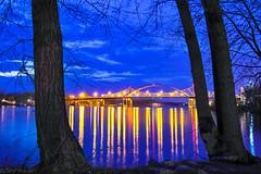 Cass Street Bridges, LaCrosse, WI.  # 3 (davidposaas) Tags: mississippi cassstbridges