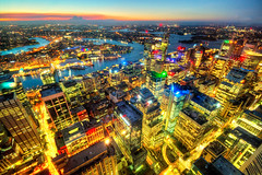 Sydney City Skyline at Night (Stuart Beards) Tags: from city eye tower skyline night lights view sydney cityskyline skywalk sydneycity sydneyarchitecture sydneyatnight sydneytowereye sydneynightskyline sydneycityskylineatnight