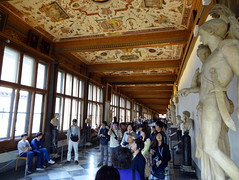 Uffizi Gallery in Florence (chibeba) Tags: city urban italy art tourism museum florence spring europe interior culture tuscany april inside uffizi 2016 uffizigallery shortbreak citybreak