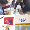 My annual #arabiccalligraphy workshop at @kingsacademyjor for the Arabic Year students