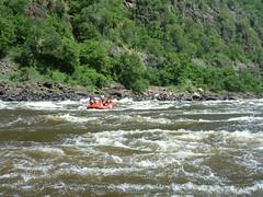 White water rafting the Zambezi River (little_duckie) Tags: africa rafting zimbabwe whitewaterrafting zambezi zambeziriver