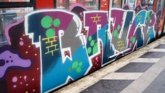 Graffiti (Honig&Teer) Tags: railroad streetart train germany graffiti steel db vandalism deutschebahn sbahn railways hbf treno bombing spraycanart traingraffiti trainart railroadgraffiti dbregio honigteer