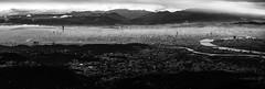 Taipei city (kenn1660) Tags: light cloud sun white mist mountain black building canon landscape eos evening is cloudy foggy taiwan scene 101 taipei stm      m2          f3556   efm1855mm
