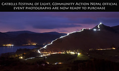 Catbells Festival of Light 2016, Community Action Nepal (Nick Landells) Tags: charity longexposure nepal light mountain lake festival night lights torches hill lakedistrict trails trail torch derwentwater lighttrails keswick fell newlands catbells lighttrail borrowdale swinside hawesend headtorches lakelandphotowalks catbellsfestivaloflight communityactionnepal