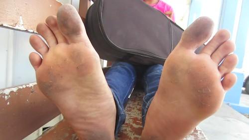 Santo domingo dirty feet size 9