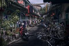 A sense of collective space (Antoine - Bkk) Tags: life street heritage thailand bangkok atmosphere xm1 darktable