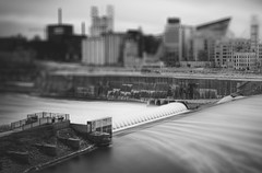 Saint Anthony Falls (SPP- Photography) Tags: city tower minnesota skyscraper canon downtown cityscape minneapolis twincities 6d tallbuildings tiltshift eos6d ef24105mm