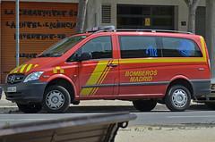 Bomberos Madrid (v.p.c) Tags: madrid rescue del mercedes benz feuerwehr bomberos firefighters fuoco bombers vito pompiers vigili