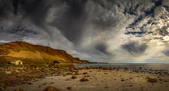 Boat House 2 (johnwilliamson4) Tags: panorama seascape beach water clouds outdoor australia cliffs boathouse southaustralia fleurierpeninsular