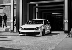 volkswagen golf Mk6 (Jonathan Sermon) Tags: golf volkswagen low lowered dropped lowlife mk6 golf6 arride rotiform stancednation
