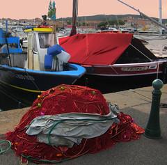 filets de pêche (buch.daniele) Tags: quai pêche filets pointus tartanes danielebuch