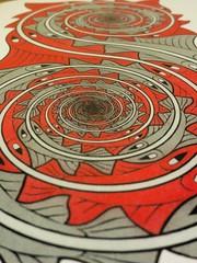 Escher. (_Sarocchia_) Tags: macro canon arte zoom ombre pesci luci escher colori