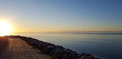 One late winter afternoon (Jaedde & Sis) Tags: road winter light sun evening phone path