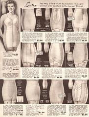 Spring and Summer 1955 Lane Bryant (vintagestitches) Tags: ladies 1955 fashion vintage tricot knit cotton talon 1950s zipper corset catalog rayon fortuna nylon mailorder allinone elastic garters lanebryant girdle plussize viscose boning pantiegirdle nonrun lastex adaptolette raschelknit lenoielastic