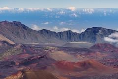 Haleakalā (scojones) Tags: ocean clouds volcano hawaii maui haleakala crater kula haleakalanationalpark 10000feetup canon135l haleakalācrater sonya7