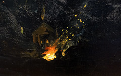Bellows, Excavation at Night (detail), 1908