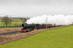 Scots Mist (russell_w_b) Tags: pacific steam cumbria a3 cumberland penrith plumpton flyingscotsman britainssteamheritage lnerpacificclassa3