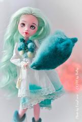 Mint_Laura-33 (lucylacri) Tags: monster high doll sweet ooak mint vanilla mh mattel repaint reroot draculaura