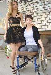 amp-1072 (vsmrn) Tags: woman crutches amputee onelegged