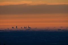 Dalle nebbie della pianura (L'ali) Tags: lake fog sunrise dawn alba milano monterosa nebbia varese pianura campodeifiori padana 21100