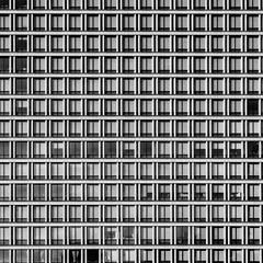 NISSAY MARUNOUCHI GARDENTOWER, Tokyo (Masahiko Kuroki (a.k.a miyabean)) Tags: bw window architecture square noiretblanc 東京 x30