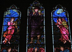 East Window, Brampton (Aidan McRae Thomson) Tags: church window stainedglass cumbria brampton preraphaelite burnejones