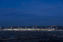 Blue Hour at T4S - MAD / LEMD (CAUT) Tags: madrid blue sunset sky espaa azul plane atardecer airport spain nikon long exposure dusk aircraft aviation january enero le cielo airline bluehour mad flughafen flugzeug aeropuerto spotting avion anochecer barajas aviacion 2016 adolfosuarez spotter d610 aerolinea aeropuertomadrid lemd caut madridbarajas horaazul nikond610