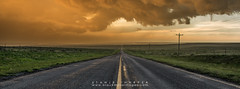 Into The Storm (Black Mesa Images) Tags: storm black oklahoma weather hail clouds texas scenic images shelf national stanley service hooker harper tornado mesa cimarron kenton guymon supercell