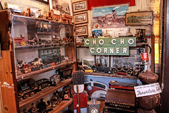 Choo choo corner (Walt Barnes) Tags: ca history museum canon vintage toy eos calif sp crockett topaz toytrain southernpacific traindepot 60d canoneos60d eos60d topazclarity crocketthistoricalmuseum topazinfocus wdbones99