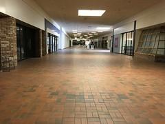 Lakeshore Mall Hallway- Manitowoc, WI (MichaelSteeber) Tags: building glass wisconsin mall store empty vacant manitowoc lakeshoremall edgewaterplaza