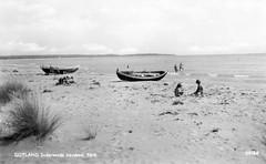Gotland, Faro Sundersands havsbad (Michael Erhardsson) Tags: postcard sverige gotland fr vykort havsbad sundersands