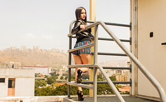 Monica Antonio (OENEIKA) Tags: portrait people woman girl fashion female nude model glamour photoshoot venezuela caracas