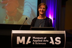 Public lecture - Janet Wiles at the Powerhouse Museum (jocreates2day) Tags: public chief lecture presentations uq investigators coedlfest16
