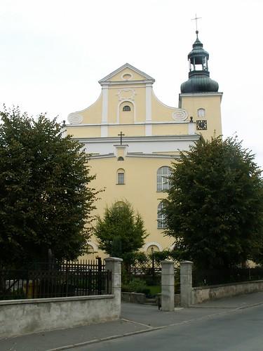 Szczyt kościoła Narodzenia NMP w Lądku-Zdroju