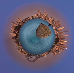 Life Raft (Rodney Campbell) Tags: water sunrise au australia newsouthwales cpl mosman bradleyshead gnd09 panosphere