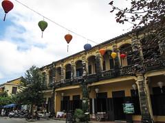 """Hoi An: la quartier colonial français et ses arcades <a style=""""margin-left:10px; font-size:0.8em;"""" href=""""http://www.flickr.com/photos/127723101@N04/24494137120/"""" target=""""_blank"""">@flickr</a>"""