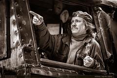 534.0432 | tra 270 | Perov (jirka.zapalka) Tags: portrait blackandwhite bw train steam railstation lide prerov parnilokomotiva stanice 5340432 trat270 historickevozidlo