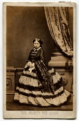 Queen Victoria (1861) Carte-de-visite photograph (The Wright Archive) Tags: street uk england woman london english history vintage john women photographer victorian archive victoria queen photograph cdv cartedevisite wright paisley regent edwin 224 jabez 1861 mayall mayallfecit mayallphoto