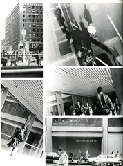Hunter College Buildings (Hunter College Archives) Tags: bridge building students buildings exterior yearbook hunter 1989 huntercollege 68thst wistarion thewistarion huntereast