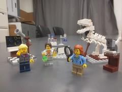 3 sets together (rikomatic) Tags: california museum stem legos minifigs chemist paleontologist astrophysicist womeninscience