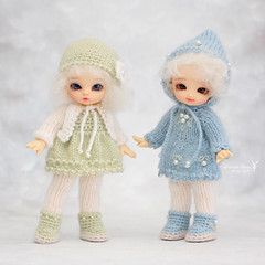 Commission work ~ (Maram Banu) Tags: outfit doll handmade sugar tiny bjd fairyland pipi pukipuki fairystyle marambanu