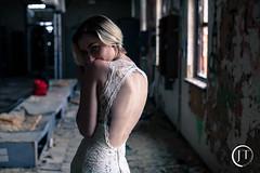 Untitled Set (jesse_tomasello) Tags: blackandwhite abandoned broken canon eos dress rad nj warehouse prom 5d vandals smokebomb