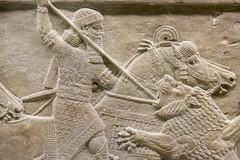 DSCF7001.jpg (Darren and Brad) Tags: england london thebritishmuseum assyria assyrian sportofkings ashurbanipal lionhunting royallionhunts