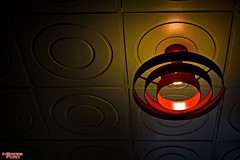 Red Light (MBates Foto) Tags: washington spokane indoors northamerica redlight lightfixture stockimage hoganscafe