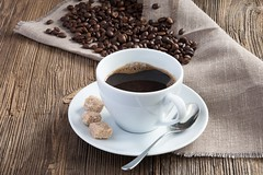 Coffee (sheva201580) Tags: wood morning hot cup coffee cane table cookie good cinnamon grain sugar arabic biscuit aroma broun