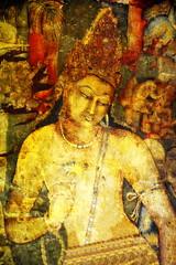 India - Maharashtra - Ajanta Caves - Cave 1 - Padmapani - 101 (asienman) Tags: india worldheritagesite padmapani mahayana ajantacaves avalokitevara asienmanphotography